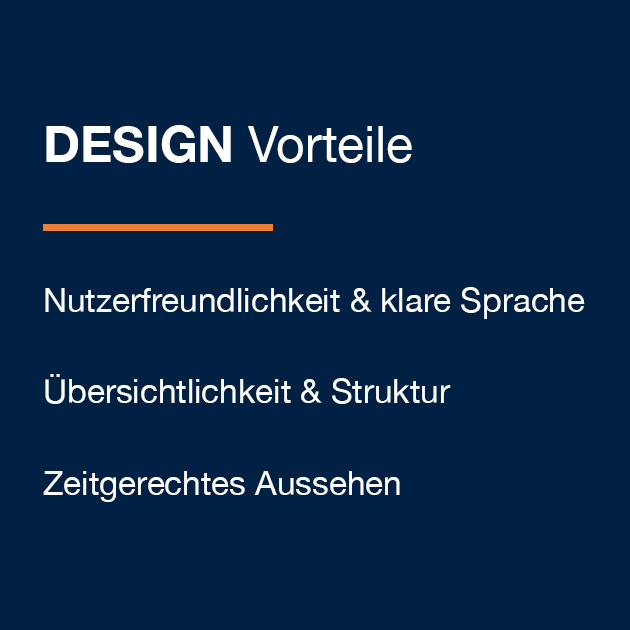 Design - Kundenvorteil